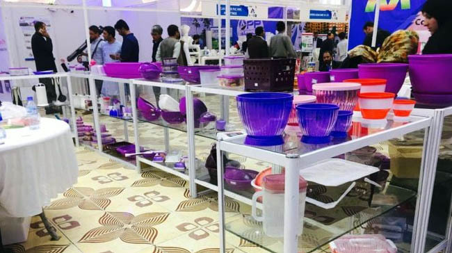 Kabul Hosts Plastic Products Trade Show